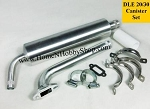 Canister Muffler Set for 20 & 30cc Gas Engines