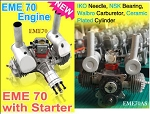 EME-70cc Twin Gas Engine Set