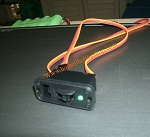 Power Switch with Green LED Light