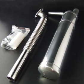 Single Canister Muffler Kit